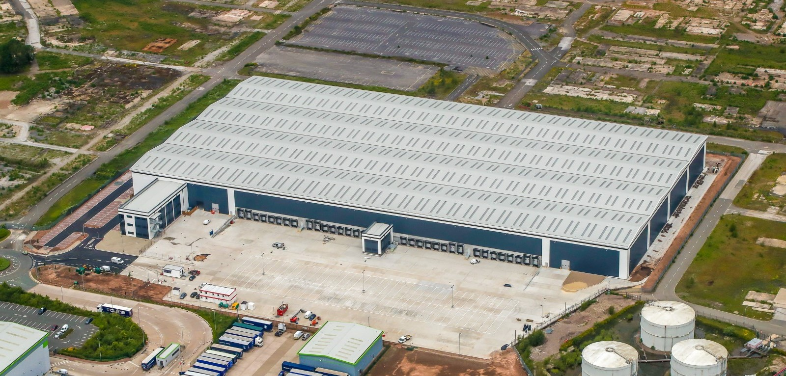 New State-of-the Art Warehouse Facility for Alloga UK - AP8